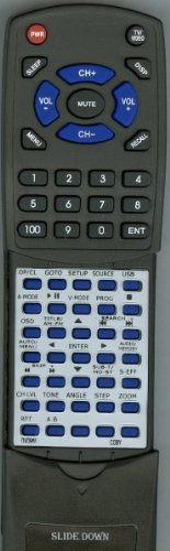 COBY リプレイスメント Remote Control for DVD968 「汎用品」(海外取寄せ品)