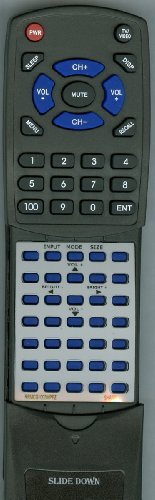 SHARP リプレイスメント Remote Control for PNS655, PNG655U, PN455, RRMCG1003MPPZ, PNE521 「汎用品」(海外取寄せ品)