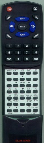SOYO リプレイスメント Remote Control for SYTPT4227AB, DYLT4227ABMS, MTSYTPT3727ABMS 「汎用品」(海外取寄せ品)
