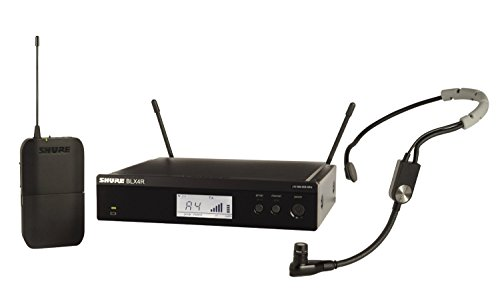 Shure BLX14R/W85-H10 Wireless Presenter Rack Mount System with WL185 Lavalier Microphone, H10 「汎用品」(海外取寄せ品)