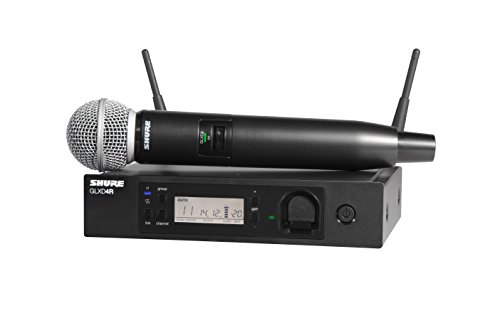Shure GLXD24R/SM58-Z2 Rechargeable Wireless System with SM58 Vocal Microphone, ハーフ Rack 「汎用品」(海外取寄せ品)