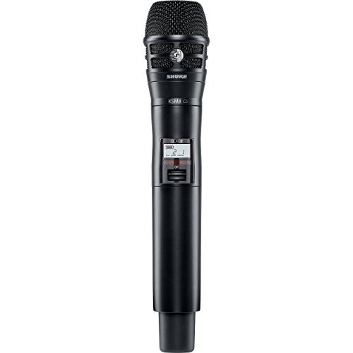 Shure QLXD2/K8B ハンドヘルド Wireless Transmitter with KSM8 Dualdyne Microphone, G50 「汎用品」(海外取寄せ品)