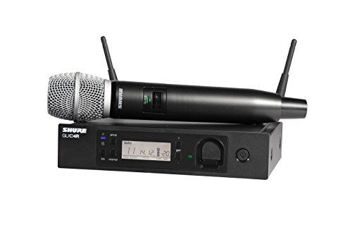 Shure GLXD24R/SM86-Z2 Rechargeable Wireless System with SM86 Vocal Microphone, ハーフ Rack 「汎用品」(海外取寄せ品)