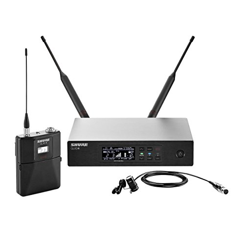Shure QLXD14/85 Wireless System with WL185 Cardioid Lavalier Microphone, H50 「汎用品」(海外取寄せ品)