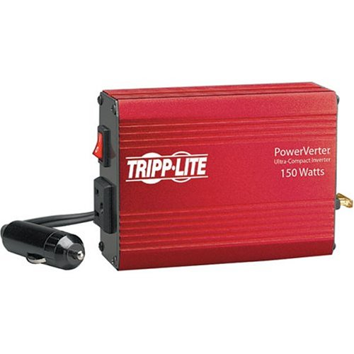 Tripp ライト 150W Car Power Inverter with 1 Outlet, オート Inverter, Ultra Compact (PV150) 「汎用品」(海外取寄せ品)