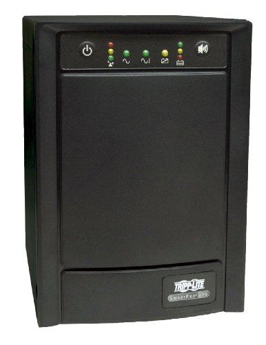 Tripp ライト SMART1500SLT 1500VA 900W UPS スマート タワー AVR 120V USB DB9 SNMP for Servers, 8 Outlets 「汎用品」(海外取寄せ品)