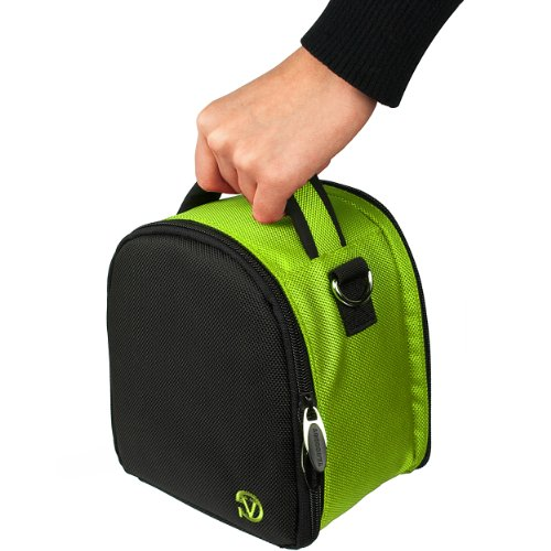 VanGoddy Laurel ネオン グリーン Carrying ケース Bag for Nikon CoolPix Series Compact to Advanced デジタル Cameras 「汎用品」(海外取寄せ品)
