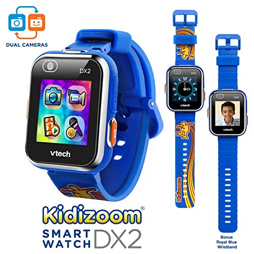 VTech Kidizoom Smartwatch DX2 - Special Edition - スケートボード Swoosh with ボーナス ロイヤル ブルー Wristband 「汎用品」(海外取寄せ品)