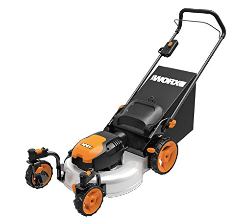 WORX WG719 13 Amp Caster Wheeled Electric Lawn Mower, 19-インチ 「汎用品」(海外取寄せ品)