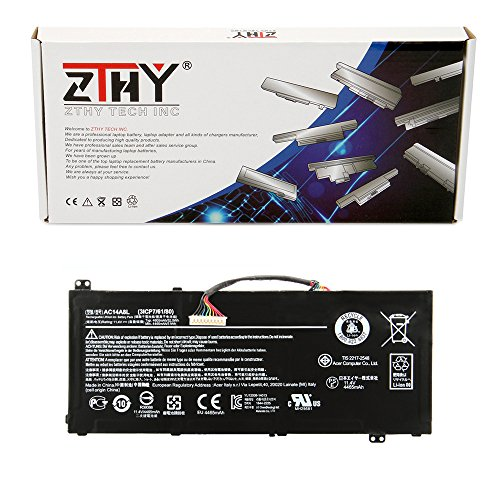 ZTHY AC14A8L バッテリー For Acer V15 ナイトロ Aspire VN7-571 VN7-591 VN7-791 VN7-591G VN7-571G VN7-572G Series Laptop 11.4V 52.5Wh 「汎用品」(海外取寄せ品)