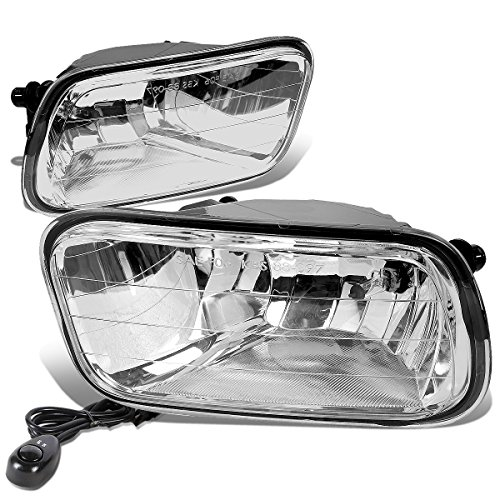 Dodge Ram DS / DJ ペア of Bumper Driving Fog ライト + Switch (Clear Lens) (海外取寄せ品)