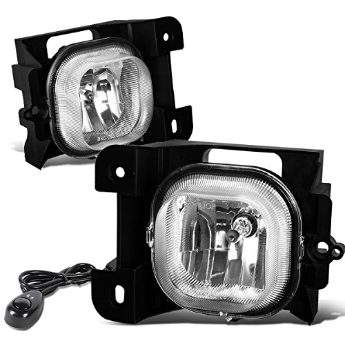 Ford レンジャー ペア of Bumper Driving Fog ライト + Switch (Clear Lens) (海外取寄せ品)