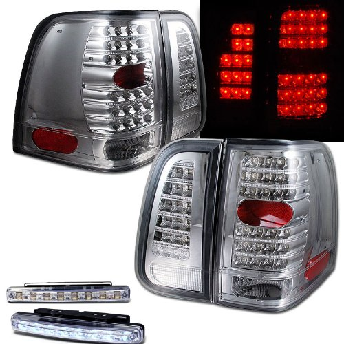 Lincoln ナビゲーター リプレイスメント Tail Light Unit (Outer) - ドライバー Side (海外取寄せ品)