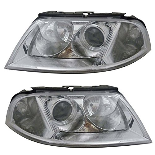 VW PASSAT 01-05 HEADLIGHT ペア セット NEW CAPA CERTIFIED CERTIFIED (海外取寄せ品)