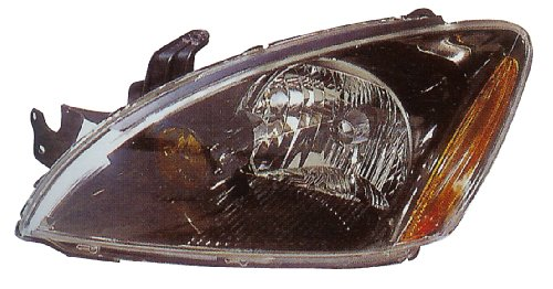 Mitsubishi ランサー セダン Headlight (Rally Model)With Abs(Black Rim) Left Side (海外取寄せ品)