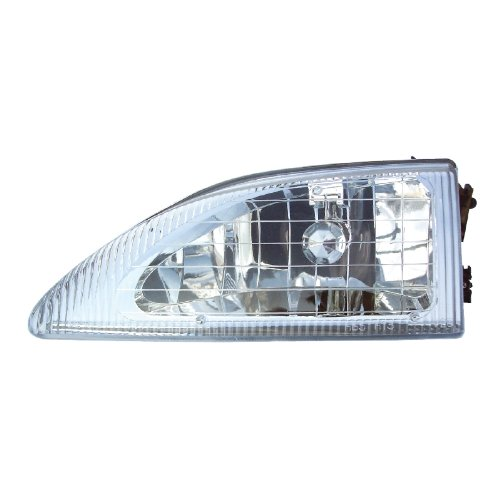 FORD MUSTANG LEFT HEADLIGHT 94-98 NEW (海外取寄せ品)