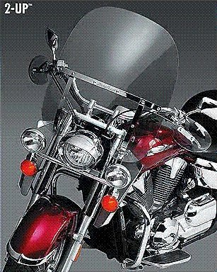 National Cycle SwitchBlade 2-Up Windshield N21101 (海外取寄せ品)
