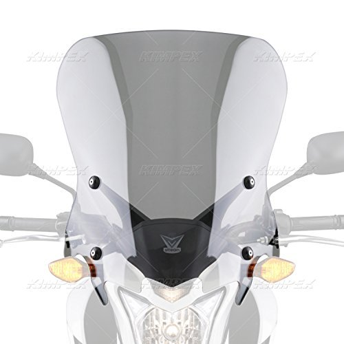 National Cycle Vstream Clear トール CB500F 2013-2016 N20056 オレンジ Cycle Parts (海外取寄せ品)