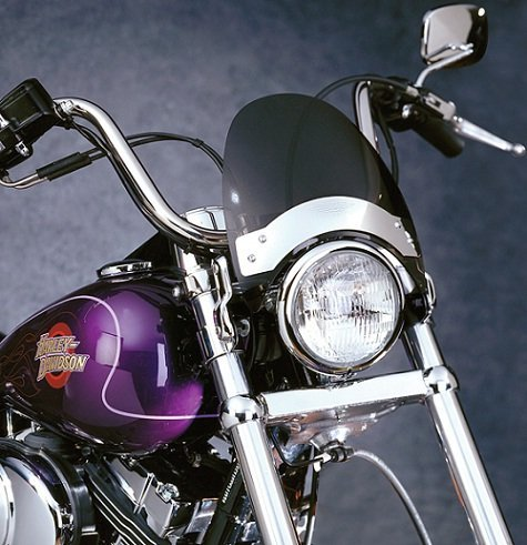 National Cycle FlyscreenR Windshield ダーク ティント 1974-1984 ハーレーダビッドソン Harley Davidson FXE Super Glide / N2531 (海外取寄せ品)