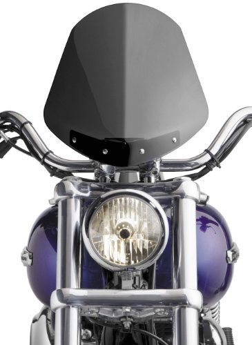 National Cycle ダーク ティント Gladiator Windshield with クローム スタンダード Mount for Sportster N2705 (海外取寄せ品)