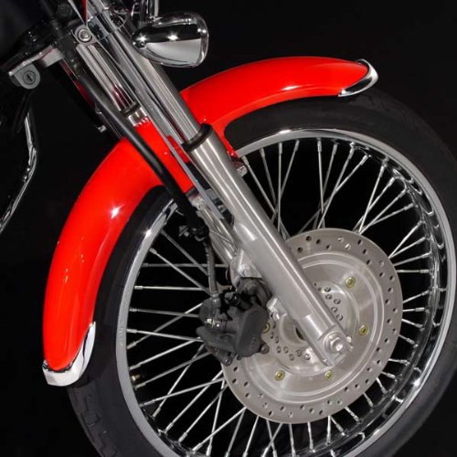 National Cycle クローム フロント フェンダー Fender Tip セット for VTX1800R/S N7003 (海外取寄せ品)