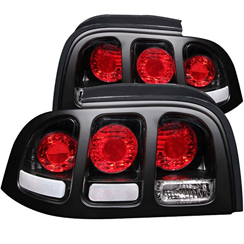 1994-1998 Ford Mustang ブラック Tail Light Assembly (海外取寄せ品)