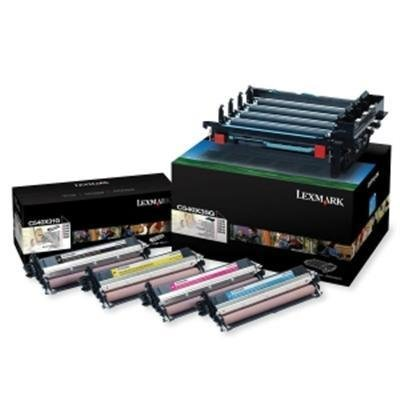 Lexmark C540X74G イメージング Drum Unit キット - OEM, BCMY, 30000 Yield (海外取寄せ品)