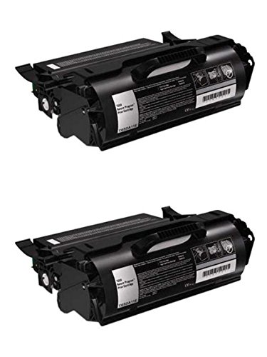 デル F362T ハイ Yield Toner Cartridge 2-パック for 5230N, 5230DN, 5350DN Laser Printers 「汎用品」(海外取寄せ品)