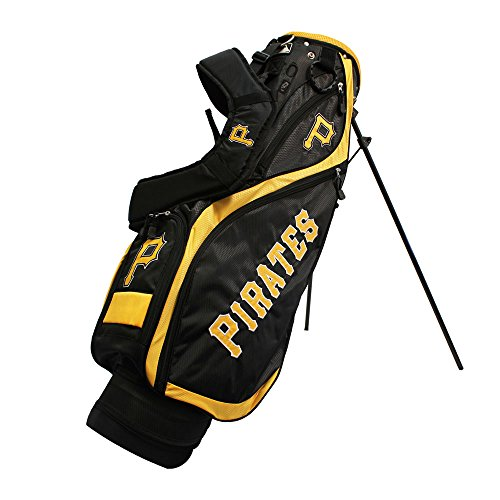チーム Golf 97127 Pittsburgh パイレーツ MLB Nassau Golf Stand Bag (海外取寄せ品)