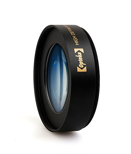 Opteka Achromatic 10x Diopter Close-Up Macro レンズ for Canon EOS 80D, 70D, 60D, 50D, 1Ds, 7D, 6D, 5D, 5DS, T6s, T6i, T6, T5i, T5, T4i, T3i, T3 and SL1 デジタル SLR Cameras (Fits 52mm and 58mm Threads) (海外取寄せ品)