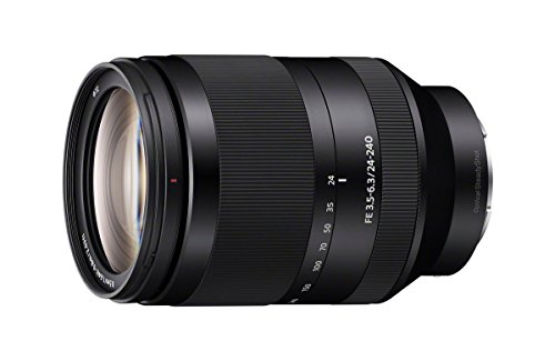 ソニー FE 24-240mm f/3.5-6.3 OSS インターチェンジ Full-フレーム E-mount Telephoto Zoom レンズ - International Version (No Warranty) (海外取寄せ品)