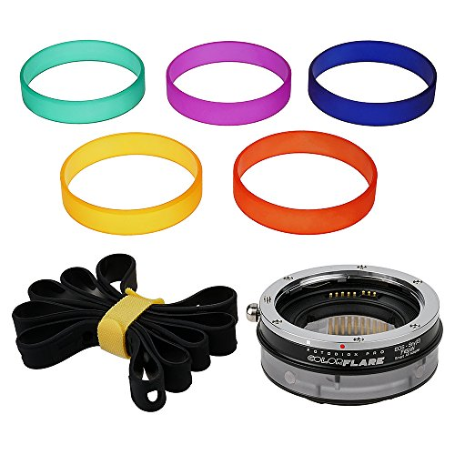 ArtFX ColorFlare フュージョン スマート AF Adapter for Canon EOS (EF/EF-S) D/SLR レンズ to ソニー Alpha E-Mount Camera Body - Light Leak/Flare Inducing Adapter with Full Automated Functions (海外取寄せ品)