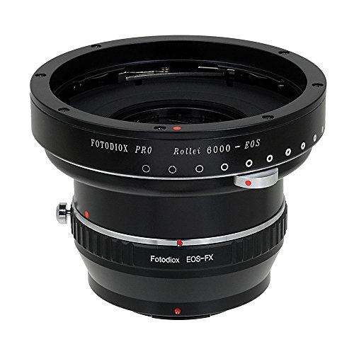Fotodiox プロ レンズ Mount Double Adapter Rollei 6000 (Rolleiflex) Series and Canon EF/EF-s Lenses to Fuji Film X-Series Mirrorless Cameras (X-Mount) (海外取寄せ品)