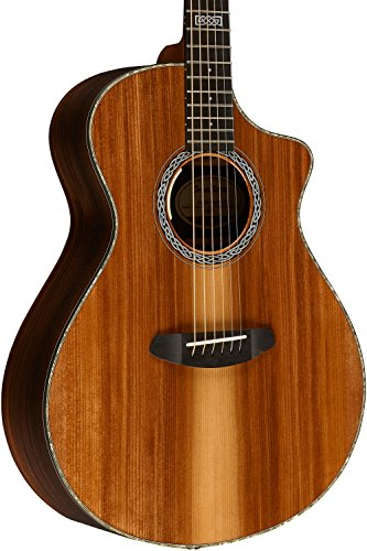 Breedlove Legacy Concert CE Redwood-Rosewood Acoustic-Electric Guitar with Hardshell ケース (海外取寄せ品)
