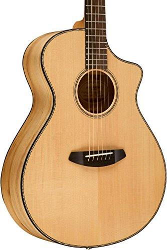 Breedlove Oregon Series Concert CE Sitka-Myrtlewood Acoustic-Electric Guitar with Deluxe Hardshell ケース (海外取寄せ品)
