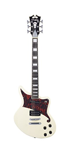 D'ANGELICO 6 ストリング ソリッド-Body Electric Guitar (DAPBEDSVWCS) (海外取寄せ品)
