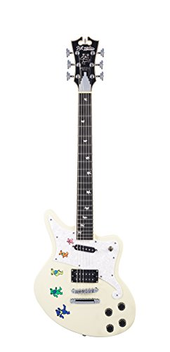 D'ANGELICO 6 ストリング ソリッド-Body Electric Guitar (DAPBEDSVWCSGDSIG) (海外取寄せ品)