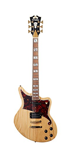 D'ANGELICO 6 ストリング ソリッド-Body Electric Guitar (DADBEDNATGS) (海外取寄せ品)