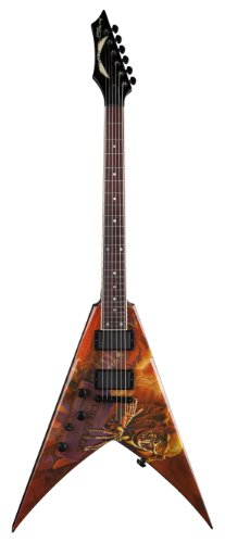 ディーン VMNT PS L V Dave Mustaine Left ハンド Electric Guitar, ピース Sells (海外取寄せ品)