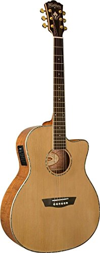 Washburn WD35 Series WG35SCE Acoustic Electric Guitar (海外取寄せ品)
