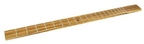 Cigar ボックス Guitar Fretboards - Fully Fretted エキゾチック Zebrawood (海外取寄せ品)
