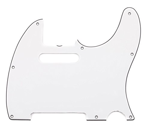 Fender ピュア ヴィンテージ '64 Telecaster Electric Guitar Pickguard, 8-Hole, Eggshell 3-Ply (海外取寄せ品)
