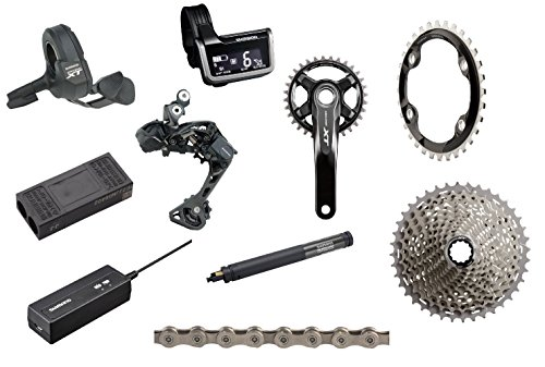 Shimano XT 8050 ブースト Di2 175mm Groupset without Crankset (海外取寄せ品)