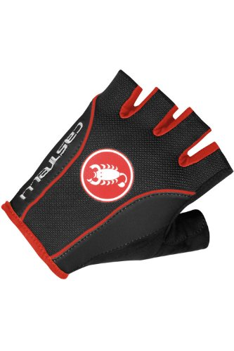 Castelli Free Cycling Glove (Black/Red, Small) (海外取寄せ品)