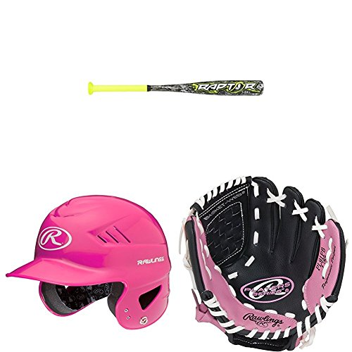 Rawlings T-Ball スターター キット- ピンク (海外取寄せ品)