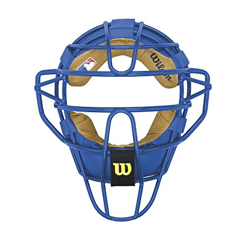 Wilson Dyna-ライト スチール Catcher's Facemask, ロイヤル ブルー (海外取寄せ品)