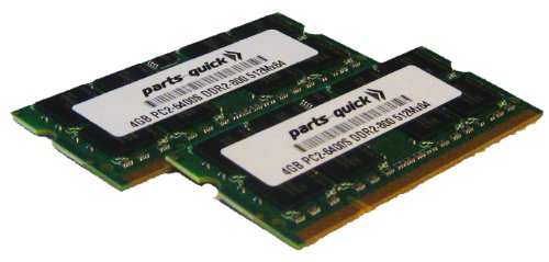 8GB 2x 4GB DDR2 PC2-6400 800MHz 200 200 ピン 4GB ピン SODIMM Laptop ノート Memory RAM for Toshiba Satellite P300 P300D P305 P500 P500D P505 P505D (PARTS-クイック BRAND) (海外取寄せ品), ヨミタンソン:f2151608 --- rods.org.uk