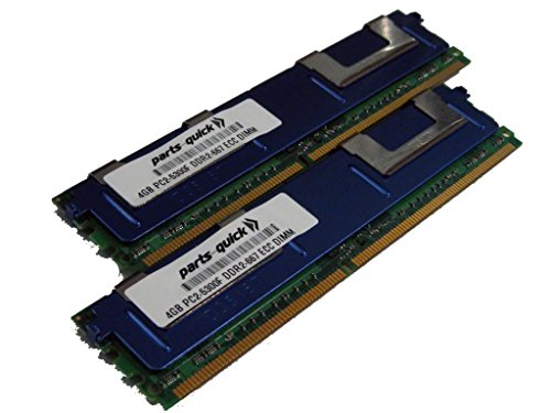 8GB (2 X 4GB) メモリ memory for Tyan コンピューター Motherboard Tempest i5000VS (S5372-H) DDR2 FB DIMM (PARTS-クイック BRAND) (海外取寄せ品)