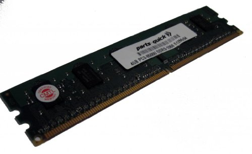 4GB Memory for EliteGroup (ECS) X58B-A3 SLI Motherboard DDR3-8500 NON ECC DIMM RAM (PARTS-クイック BRAND) (海外取寄せ品)