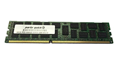 32GB メモリ memory for Quanta STRATOS S210-X22RQ DDR3 PC3-14900 1866MHz 4RX4 LRDIMM (PARTS-クイック BRAND) (海外取寄せ品)